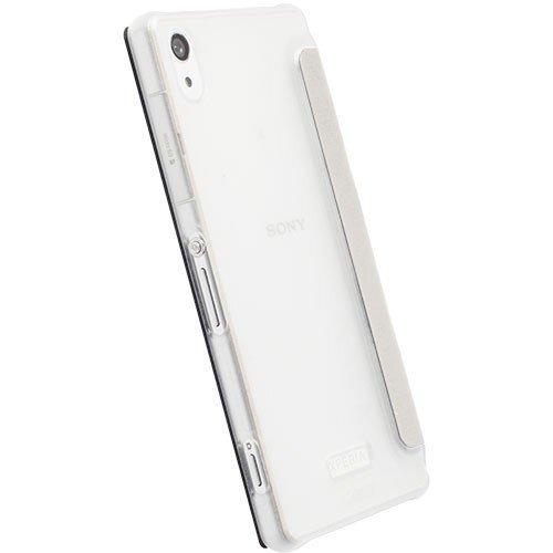 Dėklas FlipCover skirtas Sony Xperia Z2, Balta kaina ir informacija | Telefono dėklai | pigu.lt
