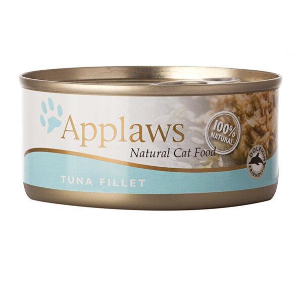 Konservai Applaws Cat Tuna Fillet, 156 g kaina ir informacija | Konservai katėms | pigu.lt