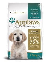 Applaws Chicken Small & Medium Breed Puppy, 7,5 kg