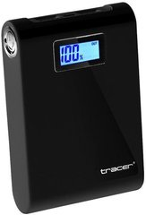 Tracer Power Bank 10400 mAh Li-Ion, Juodas