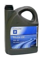 Variklio alyva GM MOTOROIL 10W40, 5L kaina ir informacija | Variklinės alyvos | pigu.lt