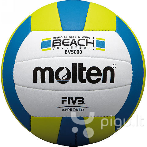 Tinklinio kamuolys Molten BV5000 kaina ir informacija | Tinklinis | pigu.lt