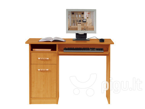 Rašomasis stalas Tip-Top BIU1D1S/100 kaina ir informacija | Kompiuteriniai, rašomieji stalai | pigu.lt