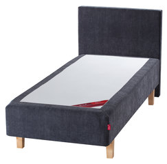 Kušetė Sleepwell RED Pocket Grey Velur