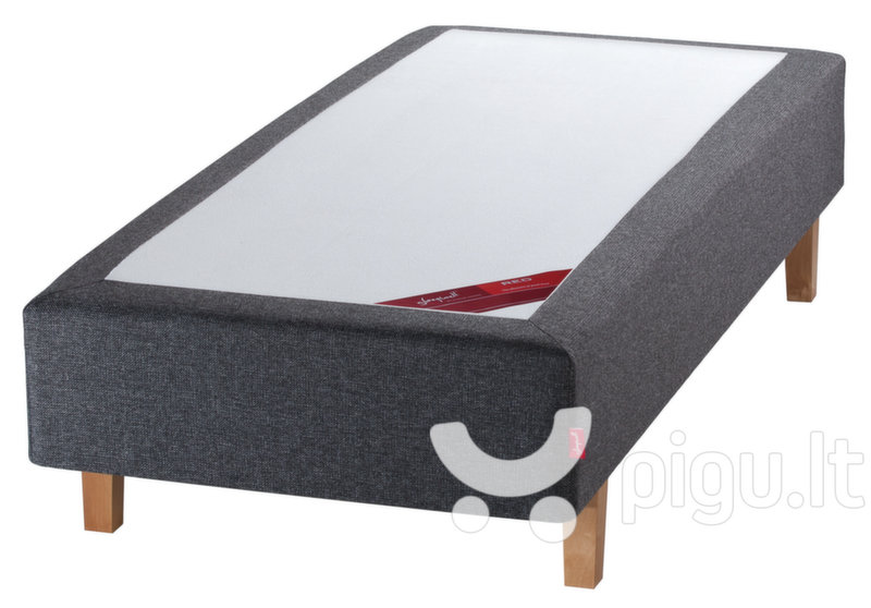 Kušetė Sleepwell RED Pocket Dark Grey
