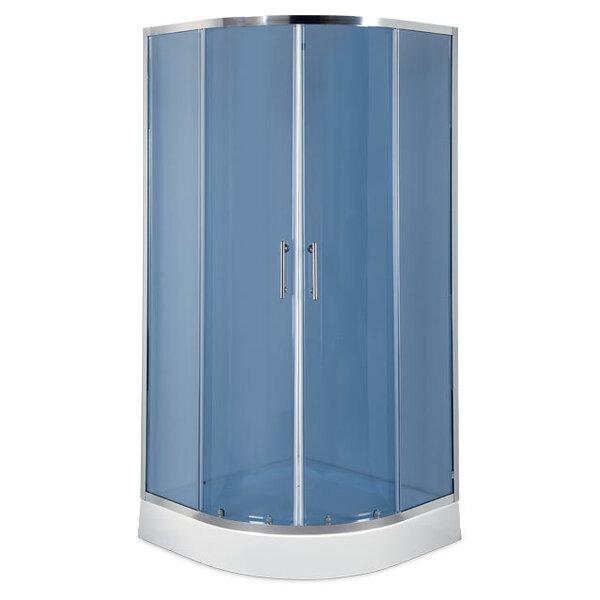 Dušo kabina Breez Palermo 80/90 kaina ir informacija | Paprastosios dušo kabinos | pigu.lt