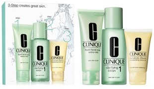 Rinkinys Clinique 3 Step Skin Care System 1