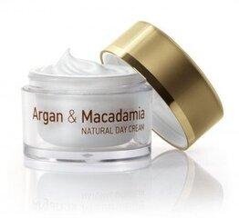 Dieninis veido kremas Natural Cosmetic Argan & Macadamia 50 ml