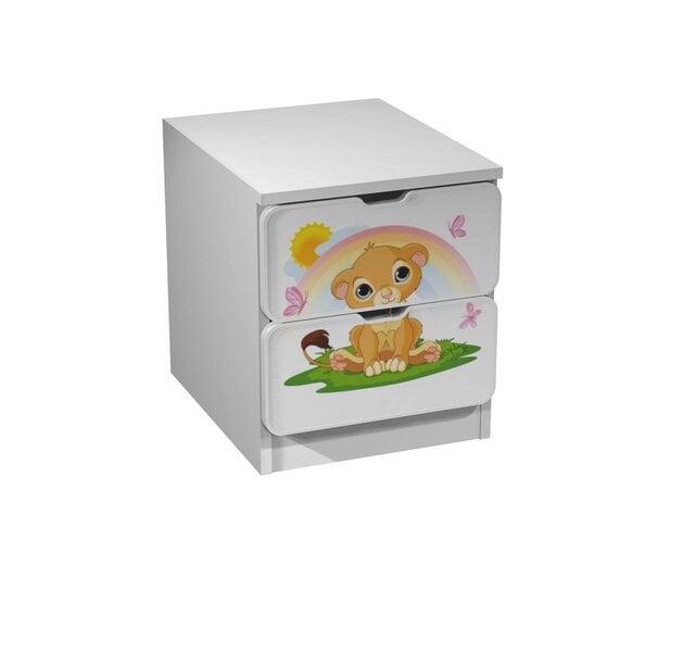 Komoda 2S Ami 11 kaina ir informacija | Vaiko kambario baldai | pigu.lt