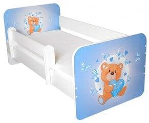 Lova su čiužiniu ir nuimama apsauga Ami 17, 160x80cm kaina ir informacija | Vaiko kambario baldai | pigu.lt