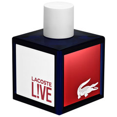 Tualetinis vanduo Lacoste Live Pour Homme EDT vyrams 100 ml