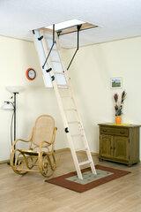 Palėpės laiptai 120x70 apšiltinti kaina ir informacija | Buitinės kopėčios, rampos | pigu.lt