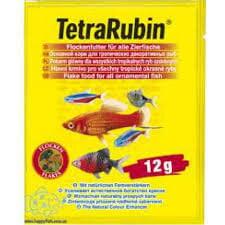 TetraRubin 12g pašaras dekor. žuvims ryškinantis spalvą kaina ir informacija | Maistas žuvims | pigu.lt