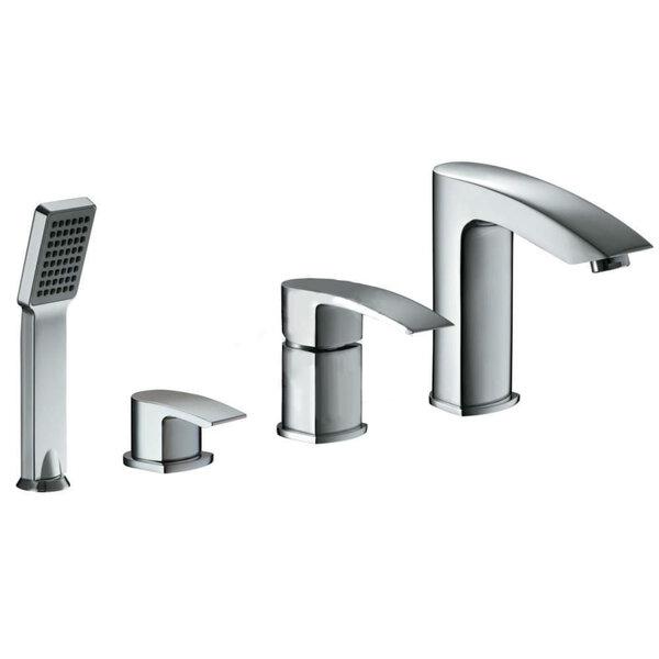 Įleidžiamas 4 dalių vonios maišytuvas BIHC Murray kaina ir informacija | Vandens maišytuvai | pigu.lt