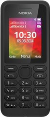 Nokia 130 Dual SIM, Juoda kaina ir informacija | Mobilieji telefonai | pigu.lt