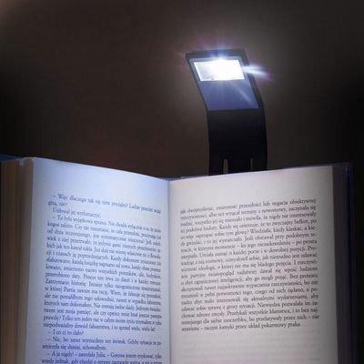 Naktinė lempa skaitymui su spaustuku kaina ir informacija | Kitos originalios dovanos | pigu.lt