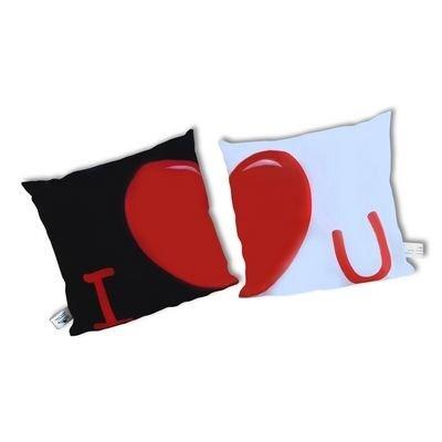 Romantiški užvalkalai pagalvėms įsimylėjėliams kaina ir informacija | Kitos originalios dovanos | pigu.lt