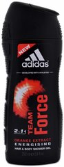 Dušo želė Adidas Team Force vyrams 250 ml