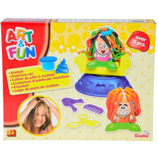 Plastilino rinkinys Art Fun Kirpykla kaina ir informacija | Lavinamieji žaislai | pigu.lt