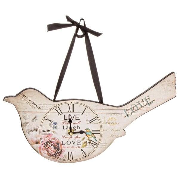 Sieninis laikrodis Paukštis kaina ir informacija | Laikrodžiai | pigu.lt