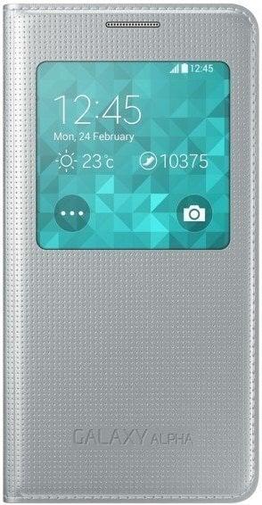 S-View Cover, skirtas Samsung Galaxy Alpha kaina ir informacija | Telefono dėklai | pigu.lt