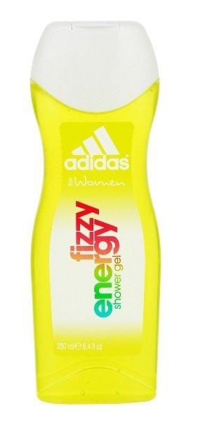 Dušo želė Adidas Fizzy Energy moterims 250 ml kaina ir informacija | Parfumuota kosmetika moterims | pigu.lt