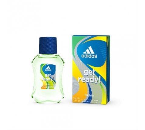 Losjonas po skutimosi Adidas Get Ready! 50 ml kaina ir informacija | Parfumuota kosmetika vyrams | pigu.lt