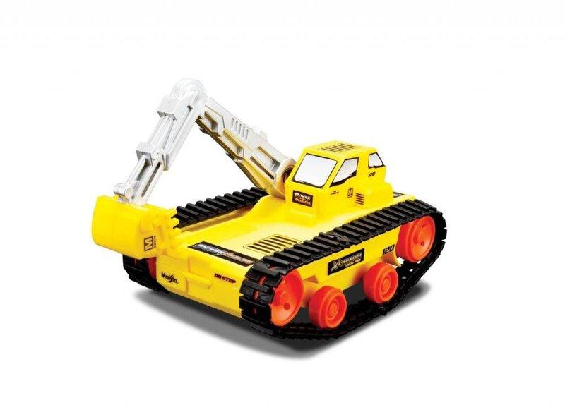 Ekskavatorius MAISTO Die Cast Power Builds, 82031 kaina ir informacija | Žaislai berniukams | pigu.lt