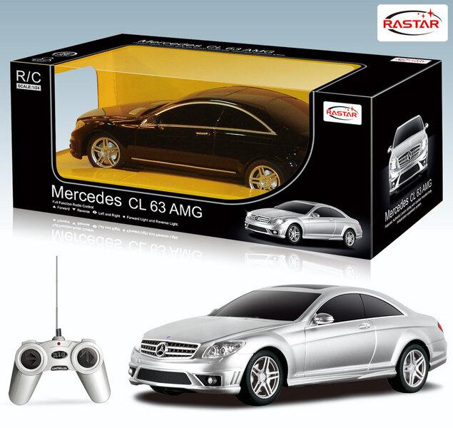 Valdomas automodelis Rastar 1:24 Mercedes cl63 amg 34200 kaina ir informacija | Žaislai berniukams | pigu.lt