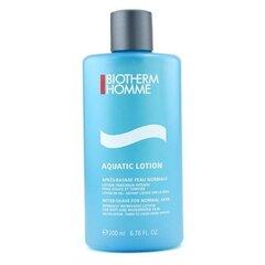 Losjonas po skutimosi Biotherm Homme Aquatic vyrams 200 ml kaina ir informacija | Skutimosi priemonės ir kosmetika | pigu.lt