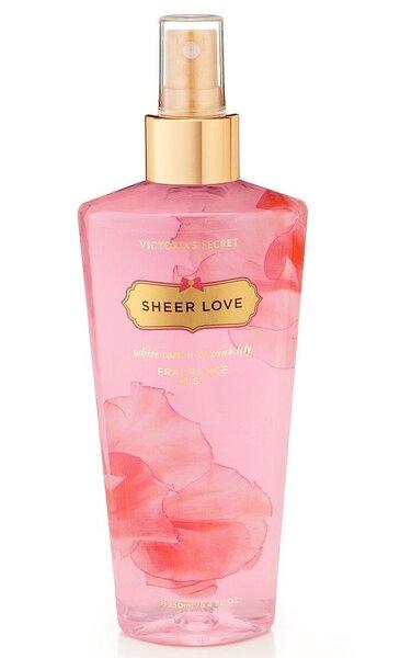 Kūno purškiklis Victoria's Secret Sheer Love moterims 250 ml kaina ir informacija   Parfumuota kosmetika moterims   pigu.lt
