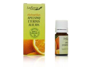 Apelsinų eterinis aliejus Saflora 10 ml kaina ir informacija | Eteriniai, kosmetiniai aliejai, hidrolatai | pigu.lt