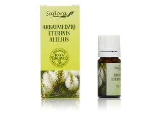 Arbatmedžių eterinis aliejus Saflora 10 ml kaina ir informacija | Eteriniai, kosmetiniai aliejai, hidrolatai | pigu.lt