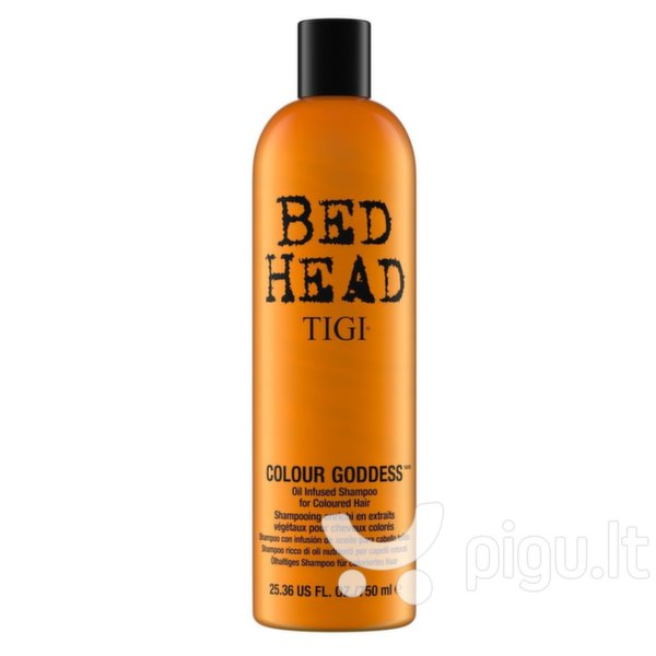 Dažytų plaukų šampūnas Tigi Bed Head Colour Goddess 750 ml