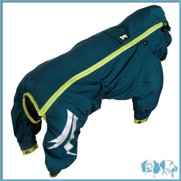 Hurtta Slush Combat Suit kombinezonas nuo lietaus kaina ir informacija | Drabužiai šunims | pigu.lt