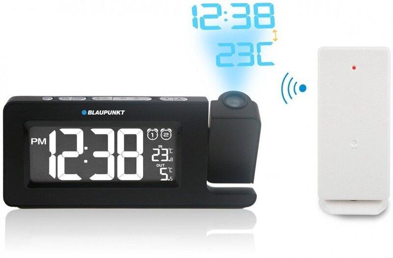 Projekcinis radijo žadintuvas Blaupunkt CRP10 BK kaina ir informacija | Radijo imtuvai ir žadintuvai | pigu.lt