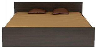 Lova Libera, 160x200 cm, tamsiai ruda kaina ir informacija | Lovos | pigu.lt