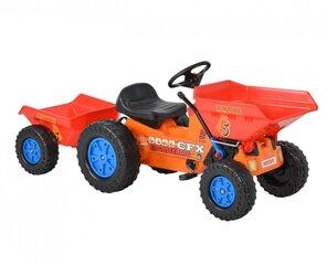 Minamas traktorius su priekaba Hecht 51412, 148 cm