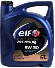 Elf Evolution Fulltech FE 5W-30 variklių alyva, 5L kaina ir informacija | Variklinės alyvos | pigu.lt
