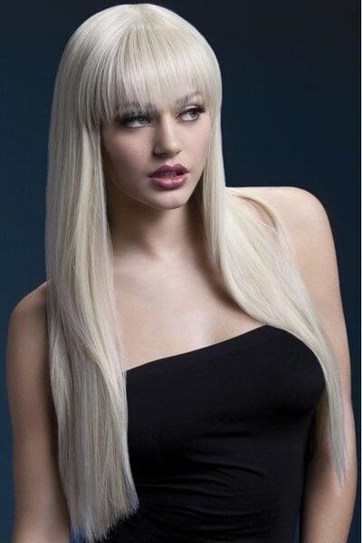 Šviesių plaukų perukas Jessica kaina ir informacija | Karnavaliniai kostiumai | pigu.lt