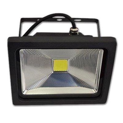 30W LED Prožektorius PREMIUM EPISTAR Reflector (6000K) šaltai balta , juodas kaina ir informacija | Lauko šviestuvai | pigu.lt