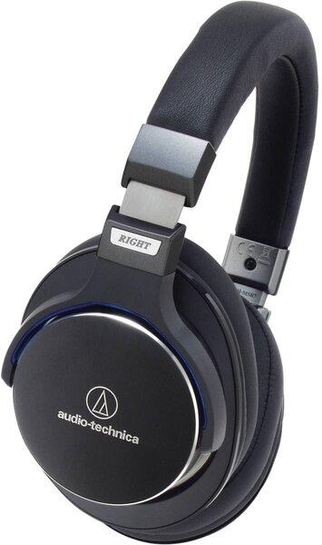 Audio Technica ATH-MSR7BK SonicPro™ su mikrofonu, Juodos kaina ir informacija | Ausinės, mikrofonai | pigu.lt