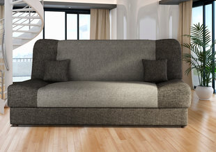Sofa Jas, pilka kaina ir informacija | Sofos, foteliai ir minkšti kampai | pigu.lt