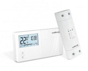 Belaidis programuojamas termoreguliatorius Wellmo WTH25.16RF kaina ir informacija | Laikmačiai, termostatai | pigu.lt