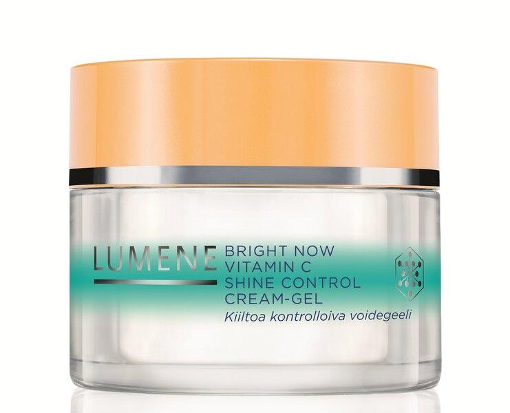 Kremas - gelis Lumene Bright Now Vitamin C Shine Control 50 ml kaina ir informacija | Veido kremai | pigu.lt
