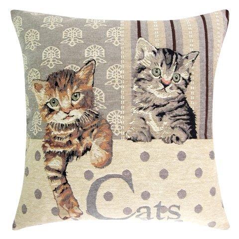 Dekoratyvinis pagalvės užvalkaliukas Animal 45x45 cm, 2 vnt kaina ir informacija | Dekoratyvinės pagalvėlės | pigu.lt