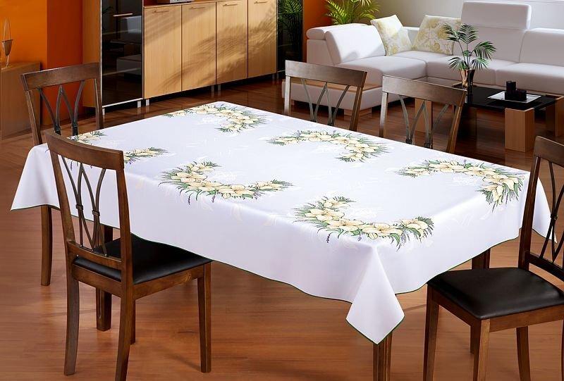 Staltiesė Lelijos, 110x150 cm kaina ir informacija | Staltiesės, virtuviniai rankšluosčiai | pigu.lt