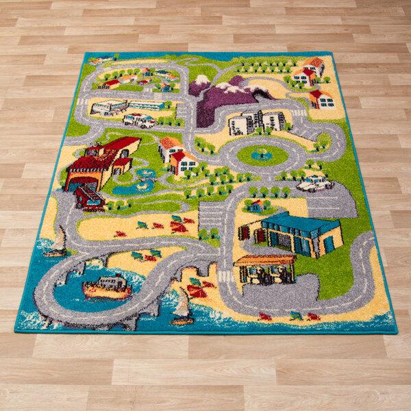 Vaikiškas kilimas Agnella Ugo kaina ir informacija | Kilimai | pigu.lt