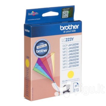Brother LC223Y, Yellow Ink Cartridge 550 pages