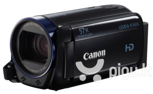 Canon Legria HF R606, Juoda kaina ir informacija | Vaizdo kameros | pigu.lt